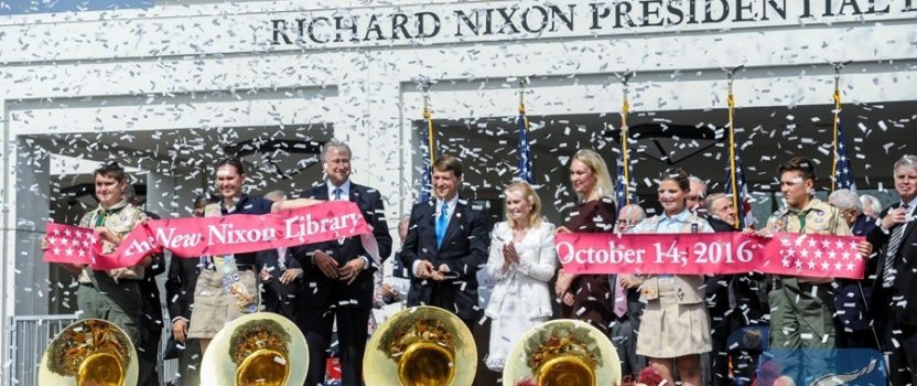 Nixon Presidential Library re-opens